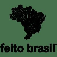 Logo Feito Brasil Comésticos